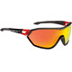 Alpina S-Way CM+ Glasses black-red
